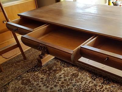 Möbelrestauration am Beispiel eines Sekretärs