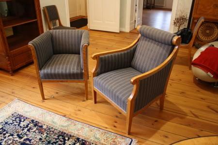 Polsterei von Sesseln